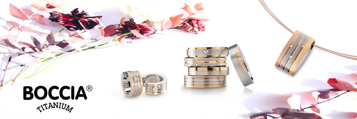 Wiesbrock Uhren Schmuck - BOCCIA Schmuck aus Titan. Edel und besonders für lange Freude an Ihrem Schmuckstück. Modernes und klassisches Design