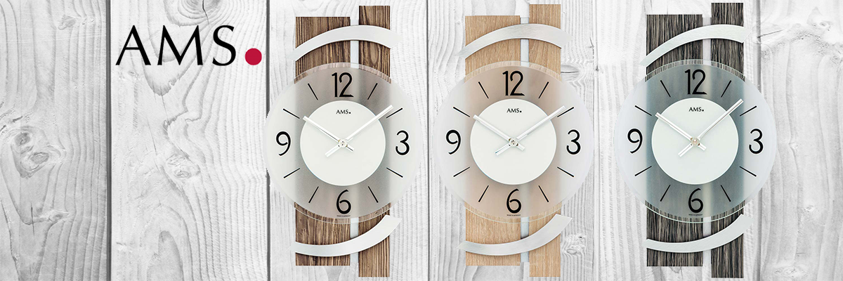 Wiesbrock Uhren Schmuck - AMS-Uhrenfabrik aus dem Schwarzwald setzt Maßstäbe in Sachen Ästhetik und Qualität bei der Herstellung von Wanduhren.