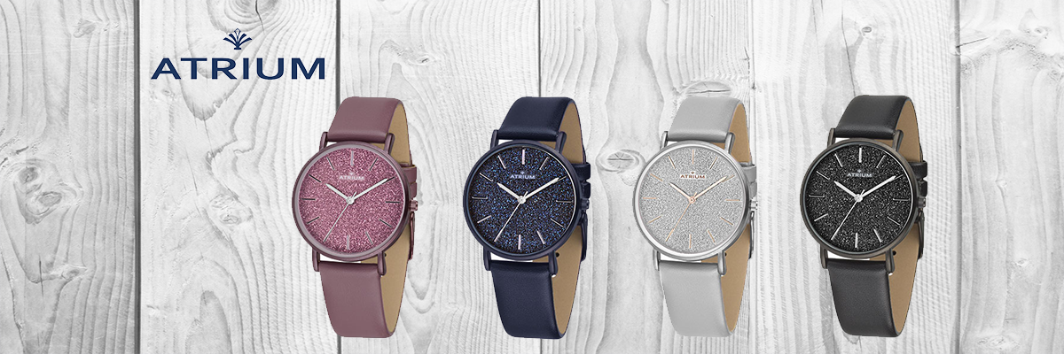 Wiesbrock Uhren Schmuck - Atrium Uhren Armbanduhren für Damen und Herren, sowie Quarzwecker Funkwecker Jugendwecker in verschiedenen Ausführungen und aktuellen Farben - solide, praktisch und komfortabel.