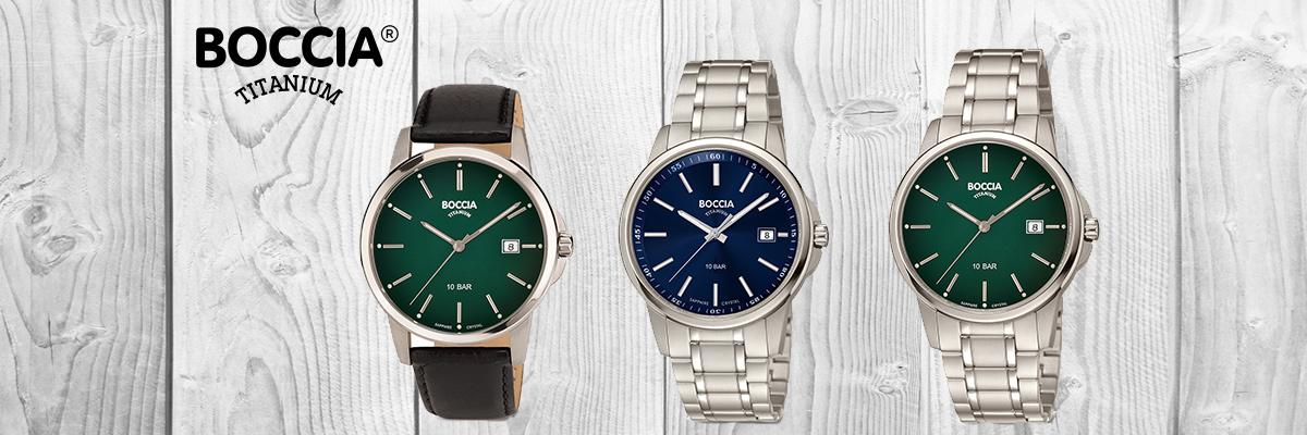 Wiesbrock Uhren Schmuck - Boccia Uhren steht für Uhren aus Titan und Keramik. Bestens verarbeitete und gleichzeitig bezahlbare Uhren sind hier zuhause.