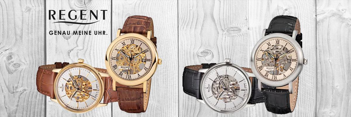 Wiesbrock Uhren Schmuck - Die deutsche Uhrenmarke REGENT bietet Armbanduhren und Taschenuhren mit langlebiger Qualität zu einem überzeugenden Preis.
