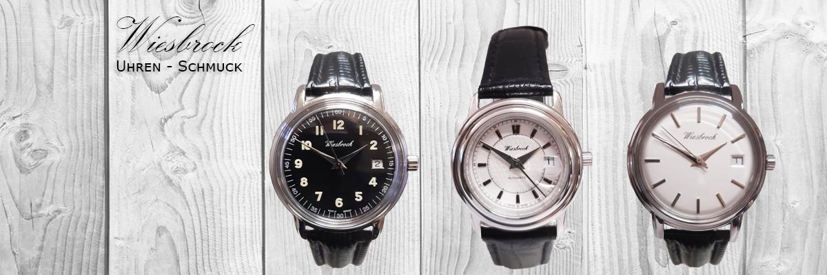Wiesbrock Uhren Schmuck - Klassisch, sportlich oder extravagant: In eigenen Armbanduhrlinien verwirklichen wir unsere Vorstellungen von Uhrmacherkunst.